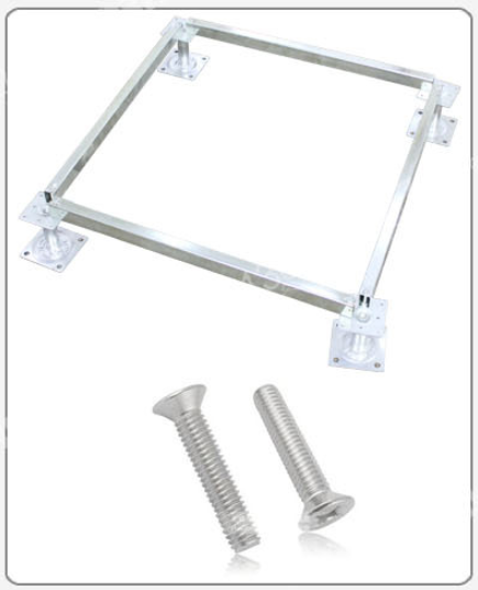 九九视频热线视频6视频16地板供应国标全钢防静电地板配件支架,横梁及螺丝