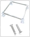 沈飞地板供应国标全钢防静电地板配件支架,横梁及螺丝